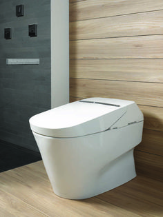 Japanese Toto toilet. MASSIVE want after experiencing them in Japan ...
