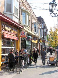 Roncesvalles Avenue, Toronto, ON