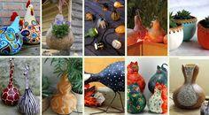ΚΑΤΑΣΚΕΥΕΣ: Διακοσμητικά αντικείμενα από AΠΟΞΗΡΑΜΕΝΕΣ ΚΟΛΟΚΥΘΕΣ | ΣΟΥΛΟΥΠΩΣΕ ΤΟ