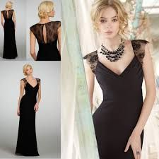 Resultado de imagem para black dresses long