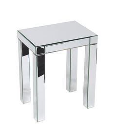 Office Star Ave Six REF17-SLV Reflections Accent Table