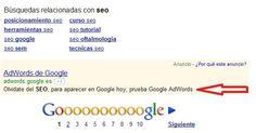 Google Anti Campaign SEO Ad