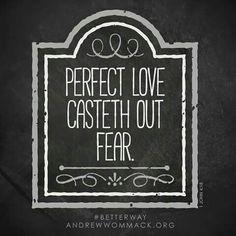 Love vs Fear.