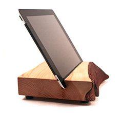 Wood iPad Stand via Block & Sons Co.