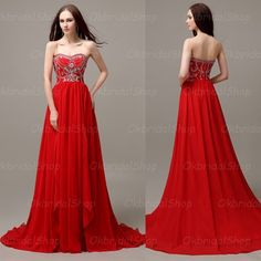 Fully beaded red prom dress, hot sales from last year till now.