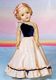 """~ Hard Plastic """"Nancy Ann"""" Style Glamor Doll ~"""