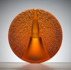 Solar Wind by Ivana HOUSEROVÁ, glass artist & glass designer, Czech Republic