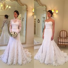 Wholesale New Style Lace Wedding Dress, Bridal Gown ,Dresses For Bride – DressesTailor Stunning Wedding Dresses, Modest Wedding Dresses, Bridal Dresses, Wedding Gowns, Bridesmaid Dresses, Prom Dresses, Lace Wedding, Diy Wedding Dress, Wedding Hair