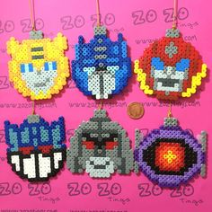 The product Transformers Pixel Baubles is sold by Zo Zo Tings in our Tictail store.  Tictail lets you create a beautiful online store for free - tictail.com