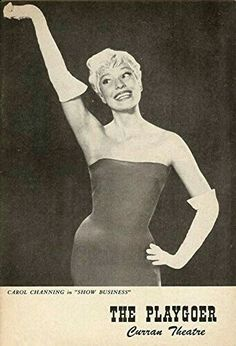 "Theatre Programme from the Premiere San Francisco Tryout Production of the Charles Gaynor musical revue ""Show Business,"" which performed from October 19 thru 31, 1959 at the Curran Theatre.  Carol Channing starred in the production."