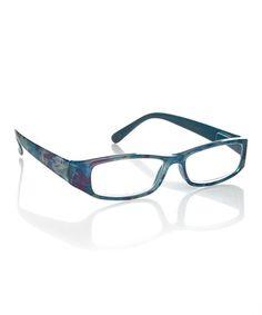 Blue & White Abstract Splash Readers