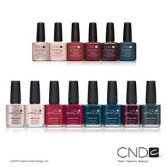 CND Fall 2015 Contradictions Collection in CND™ SHELLAC™ brand 14+ day nail color and VINYLUX™ Weekly Polish