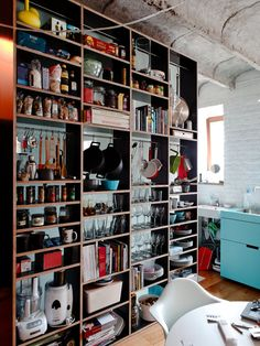 Floor To Ceiling Shelving Design, Pictures, Remodel, Decor and Ideas