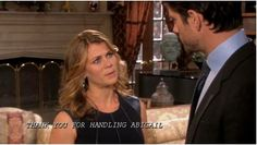 EJ and Sami in the DiMera mansion.