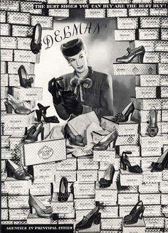 Delman shoes 1943