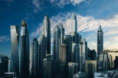 New free stock photo of city sky skyline