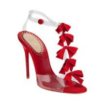 Christian Louboutin Bow Bow #red #bows #shoe #heel