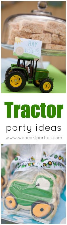 Perfect for all John Deere lovers - the best Tractor Party Ideas