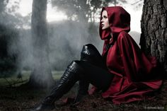 Dem boots. They just inspired me. I have a EPIC Red Riding hood story idea.