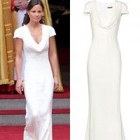 Pippa Middleton S Bridesmaid Dress Available To On Net A Porter Mydaily Uk