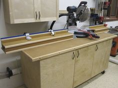 chop saw bench