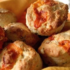 Cream Biscuits with Cheddar and Herbs-light and sweet with a little bit of savory