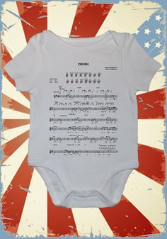 Dave Matthews onesie with the music for Crush on it-way too cool