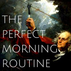 I've spent years studying the habits of high performers, and have discovered it is a near universal truth that they each have a particular morning routine