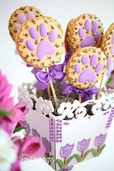 Biscoitos decorados