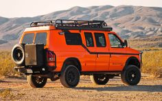 Travel Prospecting: Seeking California Ore in Sportsmobile Vans - Truck Trend 4x4 Camper Van, 4x4 Van, Off Road Camping, Van Camping, Ww Transporter, Ambulance, Sportsmobile Van, Jdm, Muscle Cars