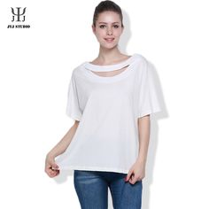 Aliexpress.com : Buy Summer Casual Plus Size S XXL Pure Color White 100% Cotton Blouses For Women Short Sleeve O Neck Hollow Out Shirt Top Tees from Reliable cotton sleeveless blouse suppliers on JYJ STUDIO
