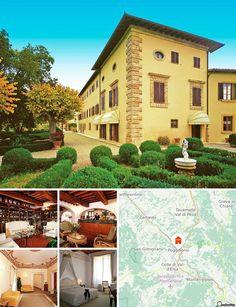 Cet hôtel situé au cœur de la Toscane offre une vue splendide sur les collines du Chianti. Il se trouve également à seulement 10 km du centre-ville médiéval de San Gimignano, à 14 km de Certaldo, à 18 km de Sienne, à 30 km de Volterra et à 70 km de Pienza.