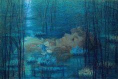 Lucien Lévy-Dhurmer | Ophelia, 1900