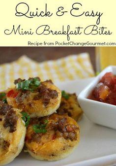 Quick & Easy Mini Breakfast Bites