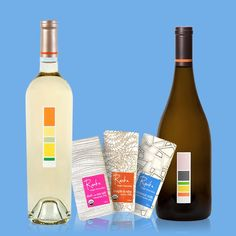 3 scrumptious bars of Raaka Virgin Chocolate paired with two of our delectable, single-vineyard wines: 2012 Sauvignon Blanc and 2014 Rosé... Need we say more? Oh, and gift packaging is included. #DrinkUproot - http://on.shopspring.com/bjcuw-2