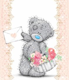 ♥ Tatty Teddy ♥ Tatty Teddy, Cute Images, Cute Pictures, Teddy Beer, Bear Graphic, Blue Nose Friends, Decoupage, Cute Teddy Bears, Bear Toy