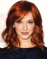 I love this hair style...maybe I'll grow my bangs out.