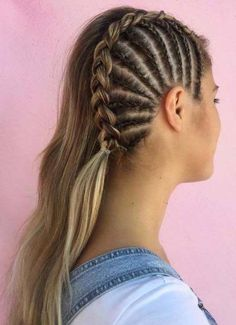 Fabulous Side Braids You Need to Sport in 2018 If you still can't find the perfect styles of wedding and bridal hairstyles to show off right now then you must visit here for sensational trends of braids for long hair in Frontal Hairstyles, Braided Hairstyles Updo, Straight Hairstyles, Wedding Hairstyles, Cool Hairstyles, Hairstyle Ideas, Braided Updo, Beyonce Hairstyles, Black Hairstyles