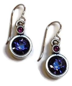 Patricia Locke Jewelry - Trick Earrings in Passion   SattvaGallery.com