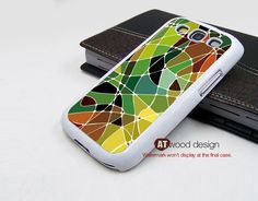 colorized patches green yellow design Galaxy SIII Galaxy S3 i9300 Case unique Case Samsung Case Samsung. $14.99, via Etsy.