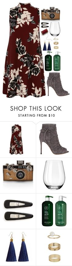 """""""Maia"""" by shazellove on Polyvore featuring Gianvito Rossi, Judith Leiber, France Luxe, Paul Mitchell and Miss Selfridge"""