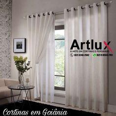 Cortinas em Goiânia  https://artluxcortinas.com.br/2017/09/26/loja-de-cortina-e-persianas-artlux/