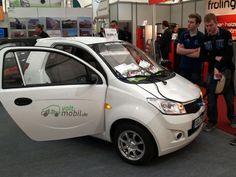 Mini-Eolica Mundial / Congress y Expo - Mini-Eolica / Husum 2014, Alemania NEW ENERGY Exposición de Autos Electricos - Volt Mobil