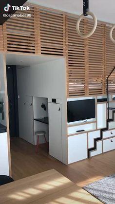 Room Design Bedroom, Girl Bedroom Designs, Home Room Design, Room Ideas Bedroom, Bedroom Decor, Cool Secret Rooms, Secret Rooms In Houses, Awesome Bedrooms, Cool Rooms