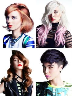 A Toni and Guy collage