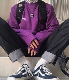 """Rate the outfit! Let us know in the comments 📩 📩Or get the """"Tre … - vintage outfits Mode Outfits, Retro Outfits, Grunge Outfits, Trendy Outfits, Vintage Outfits, Boy Fashion, Korean Fashion, Mens Fashion, Fashion Outfits"""