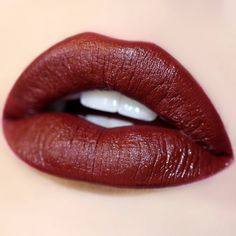 A dark blackened red, we volunteer this shade as tribute! #prim #colourpop