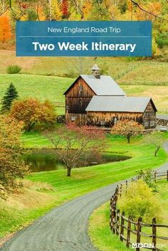A great loop through American history, high peaks, and picture-perfect countryside, this two-week New England road trip is a grand tour in every sense. This travel itinerary starts in Boston, and includes coastal Maine, the White Mountains, Southern Vermont, the Berkshires, Newport, and Cape Cod. #NewEngland #roadtrip