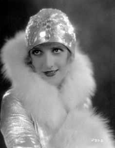 Kathryn Carver in a White Stole Collar.  #Stole #VintageStole ; http://acertaincinema.com/media-tags/stars-in-fur/page/2/