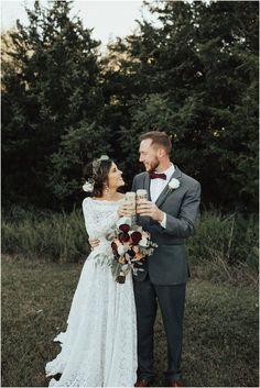 Backyard Oklahoma Wedding